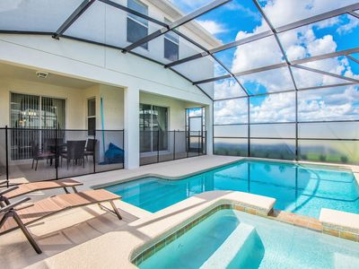 Photo for Welcome to the 7BR vacation home with private pool and spa of your dreams!