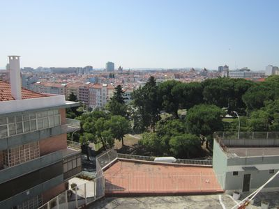 Photo for Central Apartment, Bright, Wide Views Of Lisbon