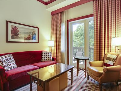 Photo for Stowe Mountain Lodge Studio - complimentary valet parking, mansfield views
