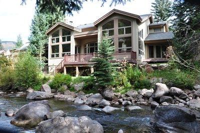 Exterior of 4444 E Streamside Circle - Outstanding location right on the Gore Creek