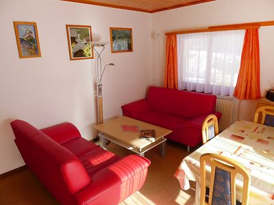 Photo for Apartment 990 m from the center of Grächen with Parking, Internet, Garden (46017)