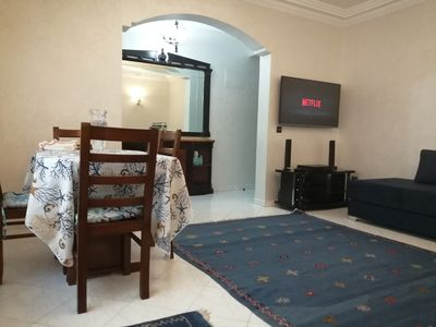 Photo for Comfortable, well-equipped holiday apartment near Marina Casablanca.