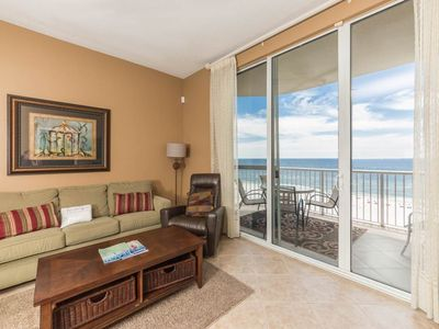 Photo for Cozy Condo, On-Site Pool & Hot Tub,, Beach Chairs & Umbrella, Beach Front