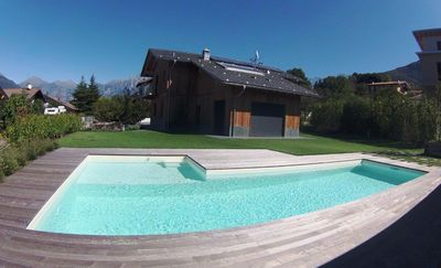 Photo for Fantastic house, private pool, large garden, near the beach and center