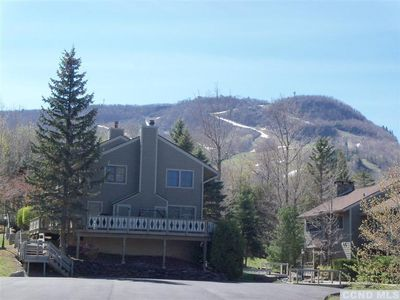 Photo for Updated slope side condo at Hunter Mountain, NY - 50 feet from the slopes - WiFi