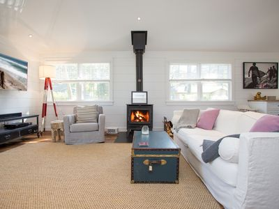 Photo for Cozy Beach Cottage with Huge Wood Burning Stove