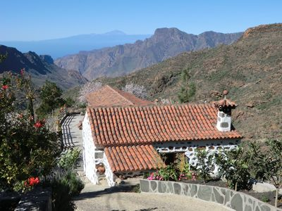 Photo for Bed Canarian located in the Rural Park of Nublo, Tejeda