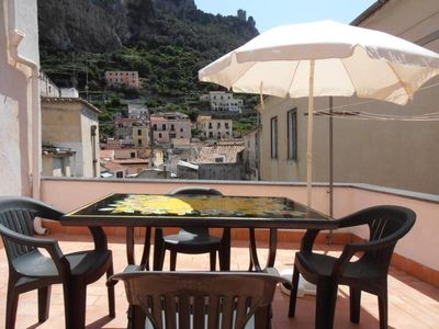 Photo for apartment/ flat with terrace in historical center Amalfi