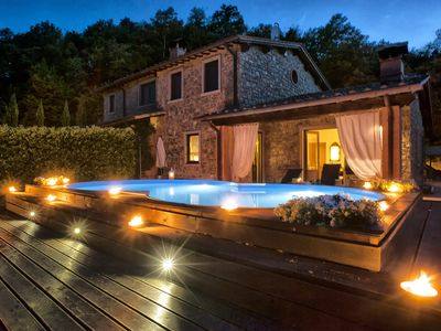 Photo for Belvedere typical villa for your relaxation in Tuscany