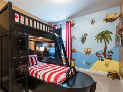 Photo for Vintage Inspired Beautiful Home*Free shuttle Disney*Themed Rooms*Pool and Spa