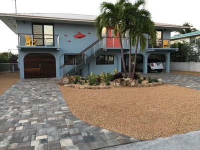 Photo for Ocean Front House, Newly Remodeled, Pool, 3 Bed/3 Bath, Deep Water Dock, Kayaks