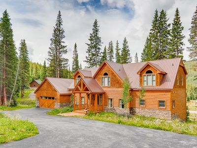 Photo for Secluded 6BR w/ Hot Tub, Fire Pit & Chef's Kitchen - 7 Mins to  Breckenridge