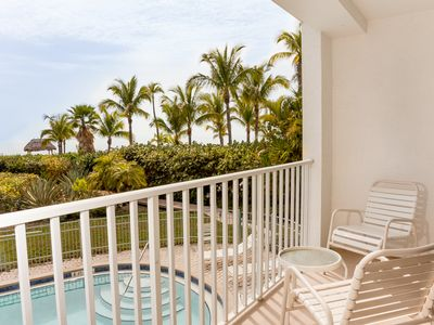 Photo for Enjoy the views from this Gulf Front three bedroom condo- Small complex