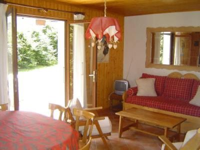 "Photo for Apartment/Flat, 2 rooms, in typical ""chalet savoyard"""