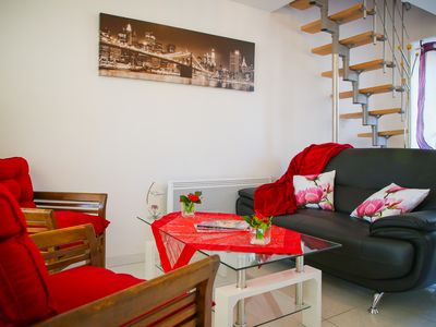 Photo for Cap Brittany close to the port and the comfort and quiet beach