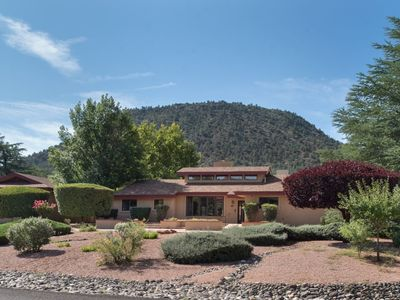 Photo for New Listing! Serene, Sedona Retreat, Mt. & Red Rock Views, Ideal Location! (Sleeps 8)