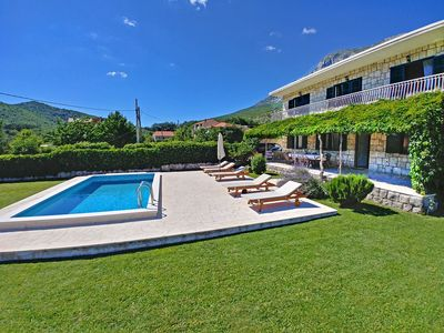 Photo for Luxury villa surrounded by beautiful nature a few minutes from the sea