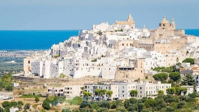 Photo for House Bellavista: charming Terrace with wonderful View of Ostuni, South Italy