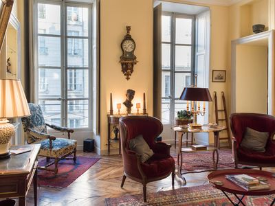 Photo for A unique experience in Versailles: living in an authentic 18th century apartment