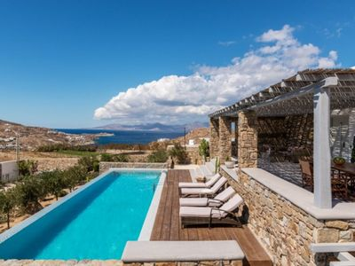 Photo for Supreme Crown Villa Mykonos 4br upto 9guests Private Pool
