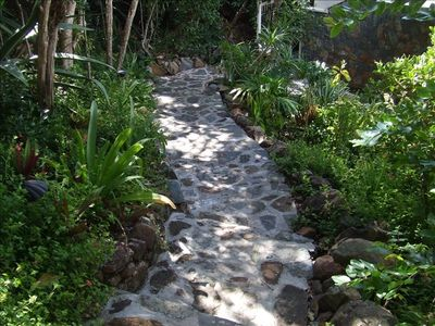 Front House and Garden Path