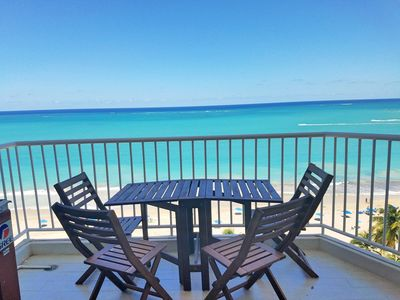 Photo for Beachfront ★ Washer/D ★ Walk to eat ★ New on Market