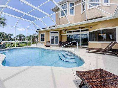 Photo for Seas the Day, 3 Bedrooms, Sleeps 8, Private Beach Walkover, Heated Private Pool