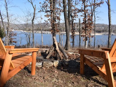 Photo for Table Rock Lakefront Cabin-Private Hot Tub & Fire Pit-New Summer Dates Open!