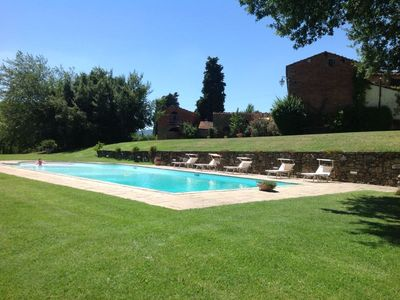 Photo for Villa with private pool for 10 persons. Panoramic position close to Arezzo and Monte San Savino