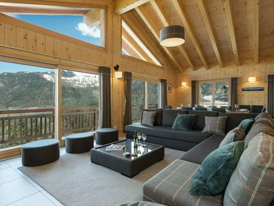 Photo for Chalet Joli - Luxury chalet for 10 people - with 15% skipass discount close to the ski-lifts