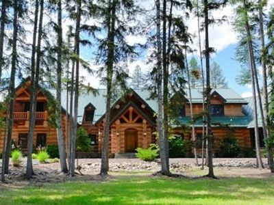 Photo for Montana Lakefront Luxury Home - Huge Private Estate on Quiet Lake!