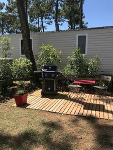 Photo for Large mobile home and superb location in la Palmyre ****