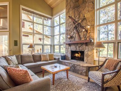 Photo for View Woodlands Golf Course,Wall of Windows, Hot Tub & Ping Pong - BIGL25