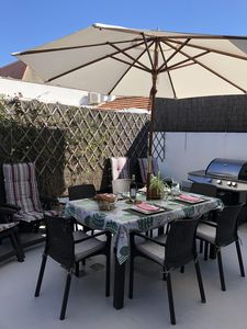 Photo for At Quatre Chemins appart; air-conditioned private terrace and garage Wifi