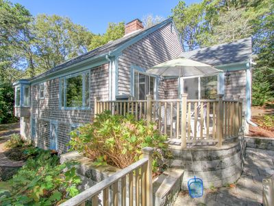 Photo for Wooded 3BR, 2BA Chatham Home on the Monomoy with Hot Tub