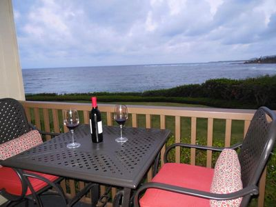 Photo for Beautiful OCEANFRONT Kauai Condo with Spectacular Views & Beach Access