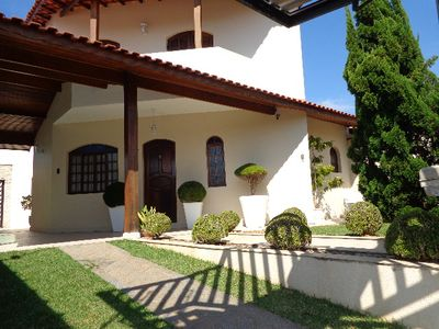 Photo for beautiful townhouse in Peruibe with pool, 4 bedrooms, noble and safe neighborhood
