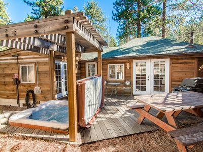 Photo for 1BR Updated Lake Tahoe House with Hot Tub – On Bus Route to Casinos