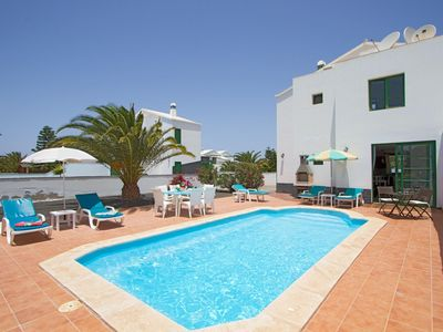 Photo for One bedroom Villa, sleeps 6 in Playa Blanca with Pool, Air Con and WiFi