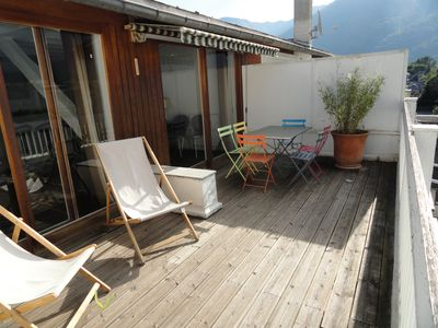 Photo for T3 Luchon third center Splendid View Terrace Except. South Gde room except blade.