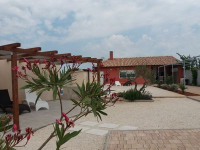 Photo for Modern house with private pool near the sea for 4 to 5 person