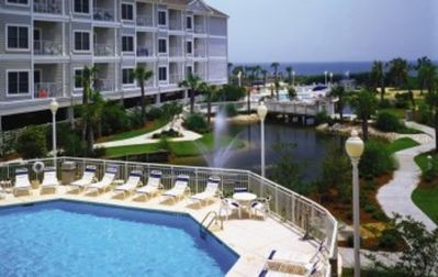 Photo for Oceanfront Two Bedroom Condo SeaWatch Plantation Resort