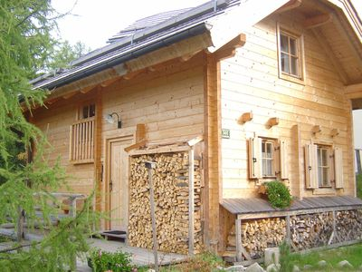 Photo for Comfortable chalet near the lake and ski lifts on the Turrach Pass