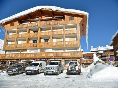 Photo for Apartment classified 3 stars, 38M2, center station. Access 200 m from the slopes