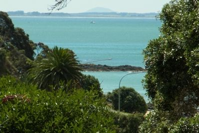 Views of nearby Cable Bay.