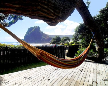 The hammock, Lion Rock
