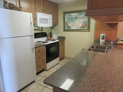 Leeward 204 fully equipped  kitchen