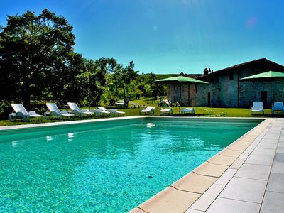 Photo for Apartment in a residence with swimming pool, broom apartment