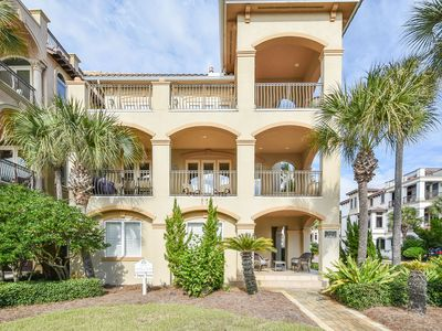 Photo for Private beach home w/an elevator & multiple wet bars! 🍹