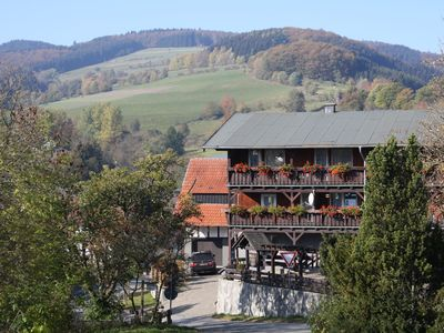 Photo for Large apartment in an authentic half-timbered house in the Sauerland